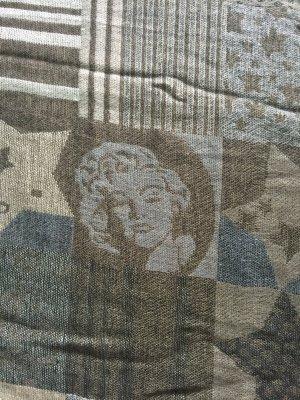 Schal Marilyn Monroe Motiv und Sternen