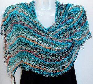 Bufanda multicolor tejido mezclado