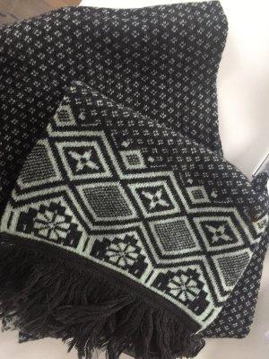 Bufanda gris oscuro-gris pizarra