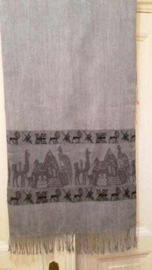 Schal mit Ägyptischem Muster Wandmalerei