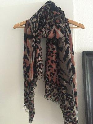 Schal mit Animal Print