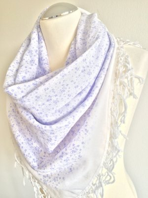 Fraas Scarf purple-white