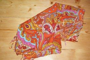 Schal mit indischen Mustern