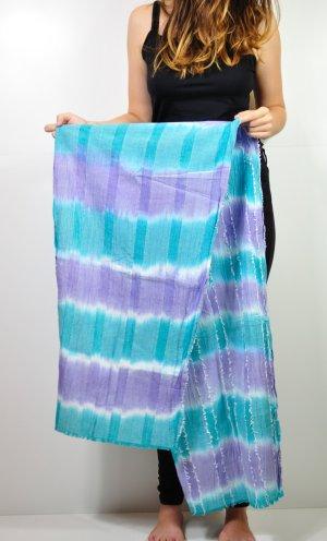 Schal mit Ombré verlauf