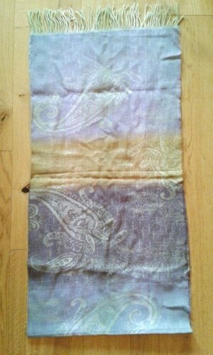 Schal mit Paisley-Muster 100% Wolle