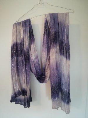 Schal mit Silberhighlights