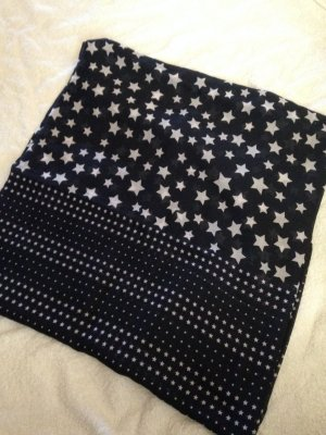 Tom Tailor Snood wit-donkerblauw