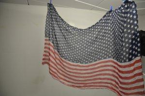 Schal mit USA Flagge