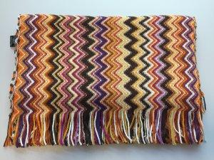 Schal mit Zick-Zack-Muster in warmen Farbtönen - von MISSONI