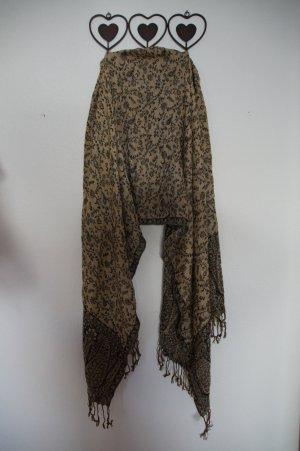 Schal mit zweiseitigem Muster (Marke unbekannt)