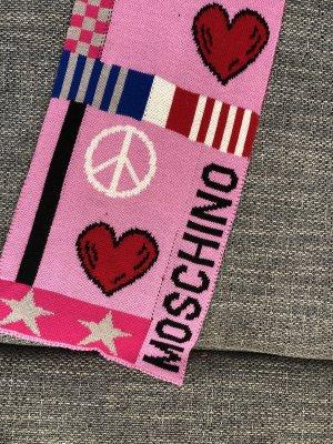 Moschino Bufanda de punto multicolor