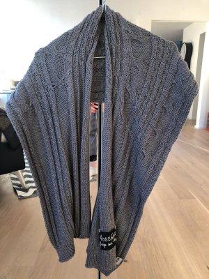 Love Moschino Gebreide sjaal grijs