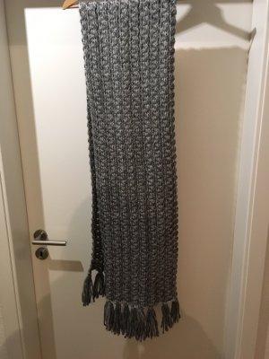 Opus Chapeau en tricot gris-blanc