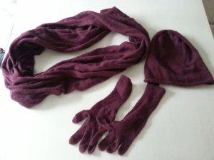 Schal Mütze Handschuh Set