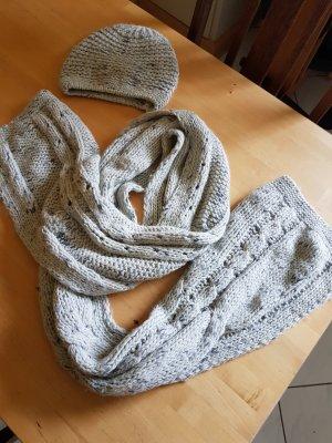 Promod Wollen sjaal lichtgrijs-grijs