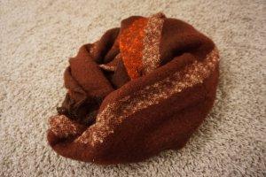 H&M Gebreide sjaal rood-bordeaux