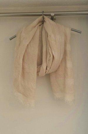 Schal nude beige rosa