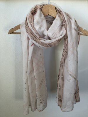 Opus Summer Scarf natural white-pink