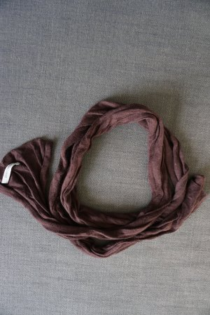 Pieces Knitted Scarf brown