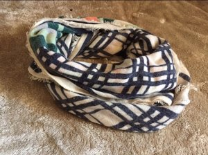 Pieces Hooded Scarf multicolored polyester