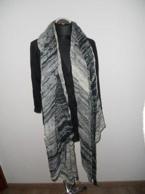 Schal Pieces Muster grau