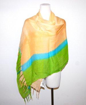 Pashmina multicolore viscose