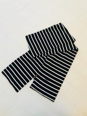Bufanda negro-blanco Algodón