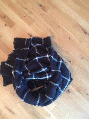 Schal schwarz weiß von Zara