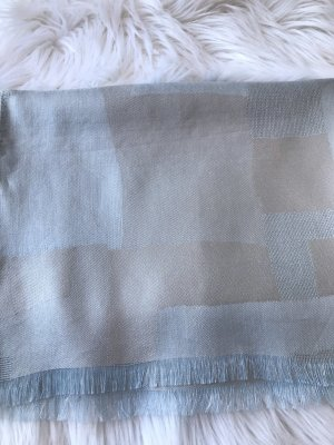 Écharpe d'été bleu azur