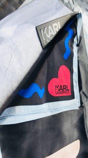 Schal Seidenschal 100% Seide Karl Lagerfeld One Size NP 129€