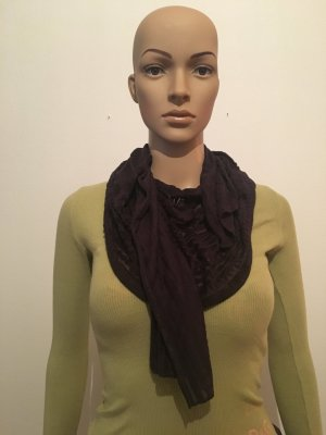 Street One Pashmina brown violet-black