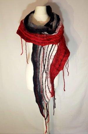Sciarpa di lana multicolore Lana merino