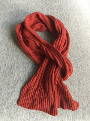Codello Sciarpa di lana rosso Lana