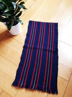 Vintage Bufanda de lana multicolor Lana