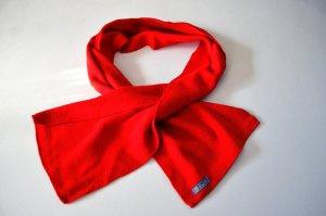 Schal True Vintage Rot Dolli Klassisch Kuschlig
