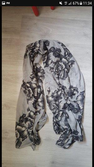 Bufanda negro-gris