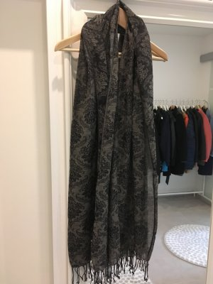 Schal Tuch Blogger Fashion Accessoires braun schwarz Muster