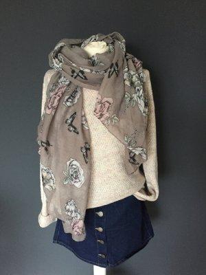 Schal Tuch Blumenprint
