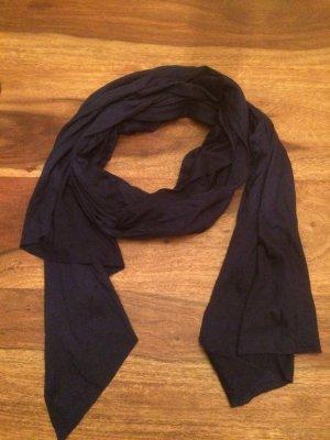 Schal/Tuch dunkelblau elegant