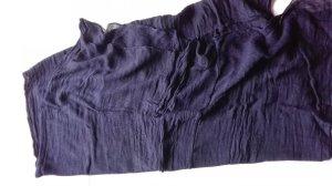 Schal Tuch dunkelviolett Loop