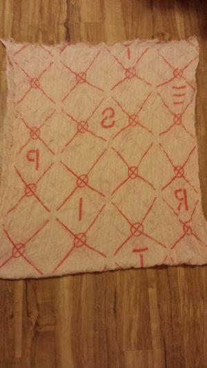 Schal Tuch gemustert