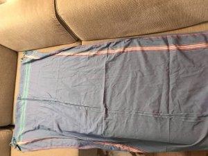 Écharpe gris ardoise-bleu pâle