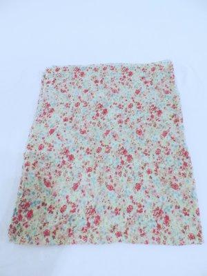 Schal Tuch Loop mit Blumen