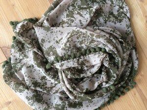 Schal Tuch oliv Vero Moda wie neu