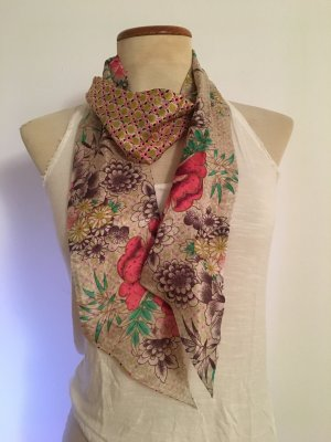 Accessorize Silk Scarf multicolored
