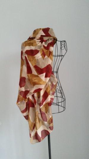 Vero Moda Foulard brun-rouge carmin