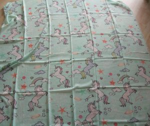Codello Summer Scarf mint polyester