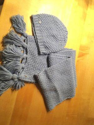 Mexx Crochet Scarf lilac