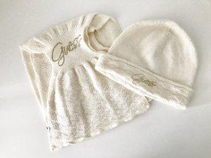 Schal und Mütze beige von Guess