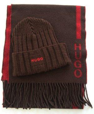 Schal und Mütze im Set von HUGO